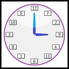 Clock face by 7s